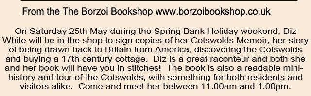 Borzoi event page