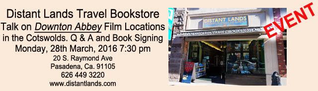Distant Lands book signing